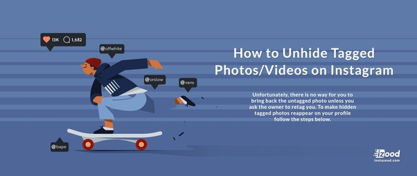 How to undo hidden photo on Instagram - Quora