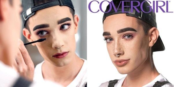 Metrosexual male makeup