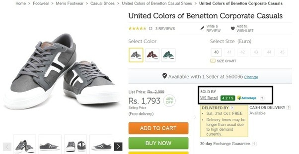I Bought Ucb United Colors Of Benetton Shoes How Can I Know That