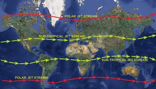 What is the subtropical westerly jet stream? - Quora
