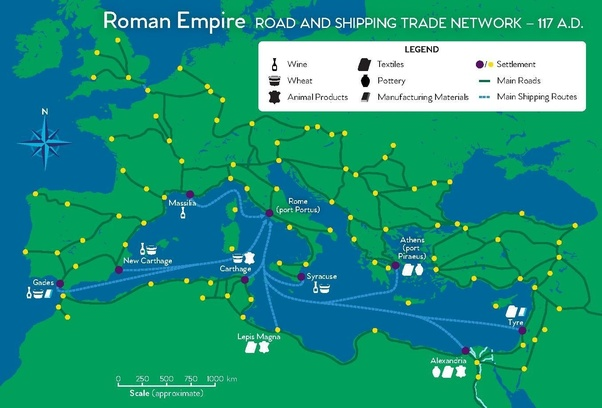 How did the roads the Romans built shape the history of Europe? - Quora