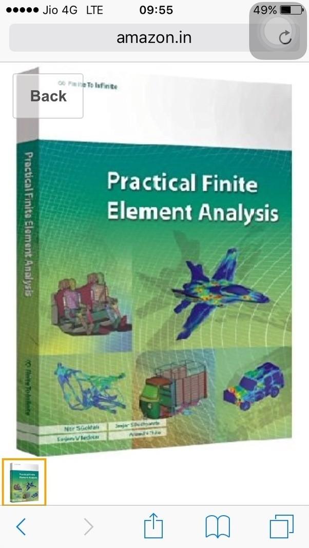 finite element analysis book by jalaluddin pdf