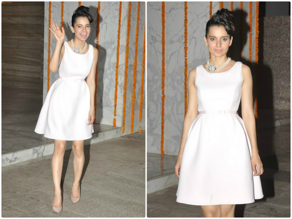 inspired by kangna ranaut outfits style one can wear these types of outfits to a formal birthday party