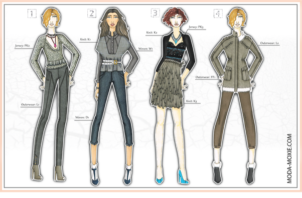 What Does A Professional Fashion Designers Portfolio Look Like Quora