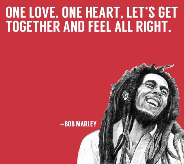 What Are Some Quotes About Love From Bob Marley Quora