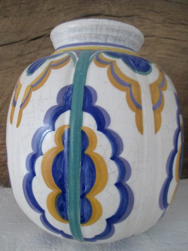 Poole Pottery Vase Anthony J Sargeant Collection Anthony J