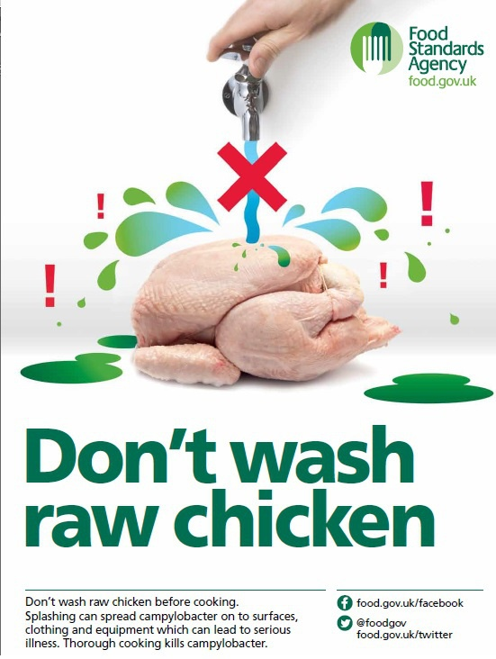 Why Do So Many People Not Clean And Wash Their Meat Especially
