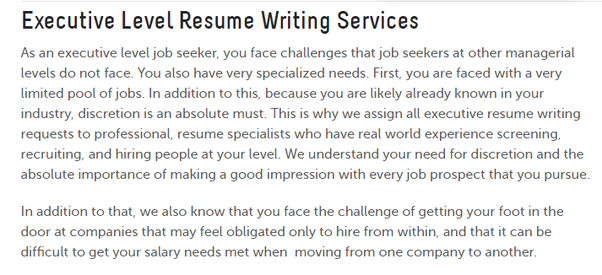 What Is The Best Executive Resume Writing Service Quora