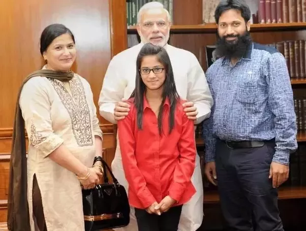A 12-year-old Muslim girl, studying in Class 6 of a Mira Road school in  Mumbai, secured the first place in a Bhagwad Gita competition organised by  the ...