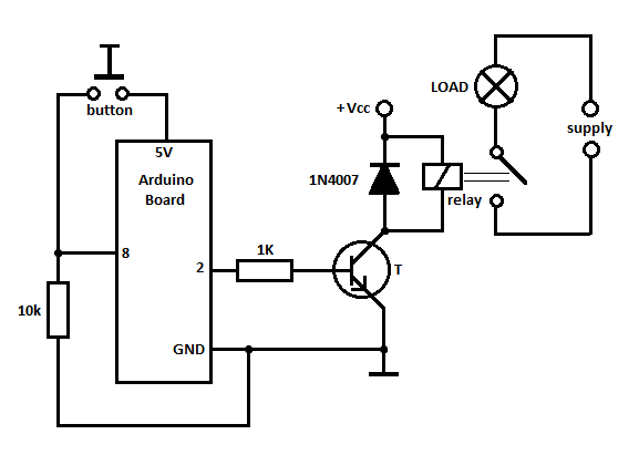 How To Start A Motorcycle With An Output Of 5v From Arduino Uno R3