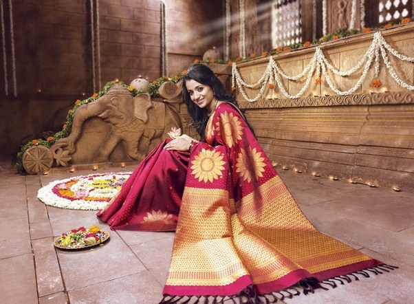 Since You Have Mentioned Wedding Day Ill Assume That Youre Asking About A Pattu Saree Is Just Silk