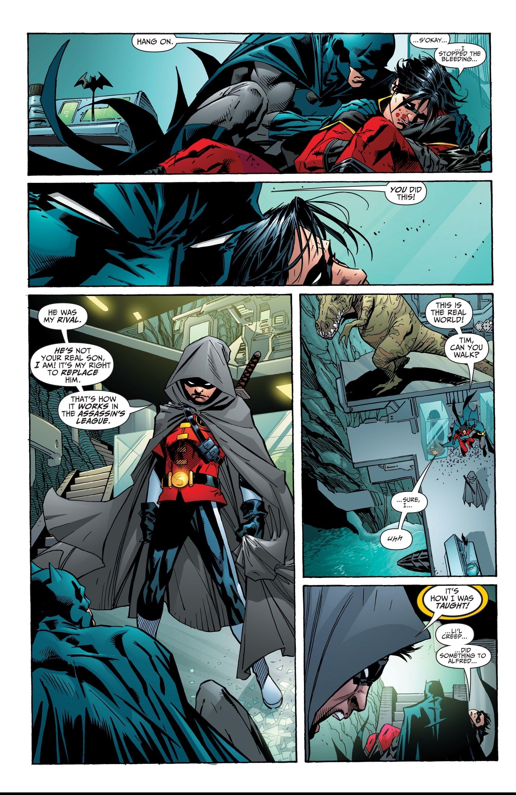 Reply, dick grayson becomes batman confirm