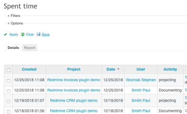 How to use Redmine as a timesheet management system without
