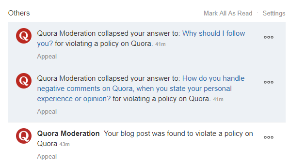 Why are answers on Quora collapsed? - Quora