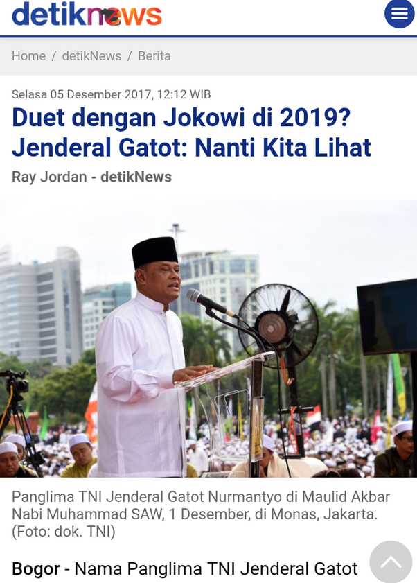 Who do you think can succeed jokowi as president after 2 periods hes closing into the coalition camp stopboris Gallery