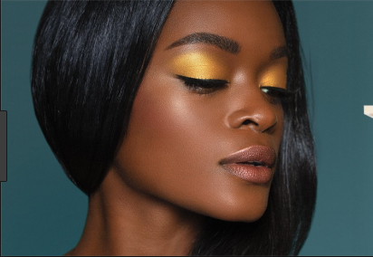 What Makeup Would Match A Yellow Gold Black And White Prom Dress