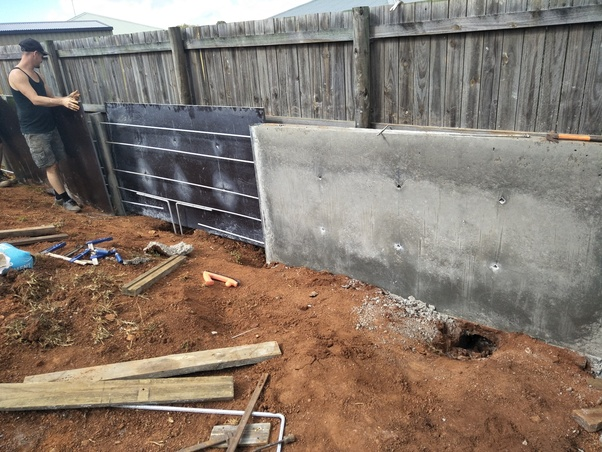 What Is The Best Way To Construct A Retaining Wall Quora