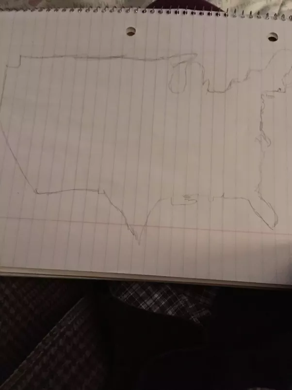 Without looking at a map how well can you draw the shape of your