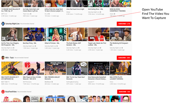 How to take a screenshot of the frame of a YouTube video - Quora