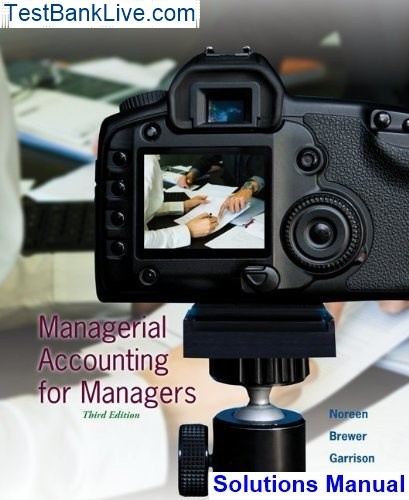 Managerial Accounting Garrison 12th Edition Pdf