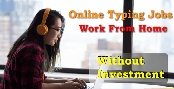 Which are the genuine home based typing jobs without