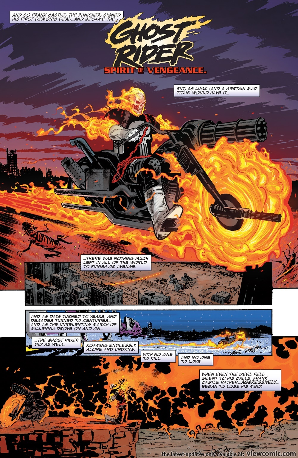 Who would win, Johnny Blaze or Frank Castle (The Rider)? - Quora