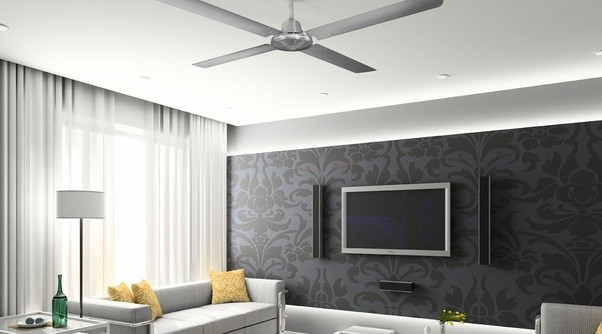 How does the type of wood finish on the blade of a fan effect how ceiling fans made of materials that are tropical like bamboo or rattan or materials imitating bamboo or rattan certainly enhances an interiors beachy aloadofball Choice Image