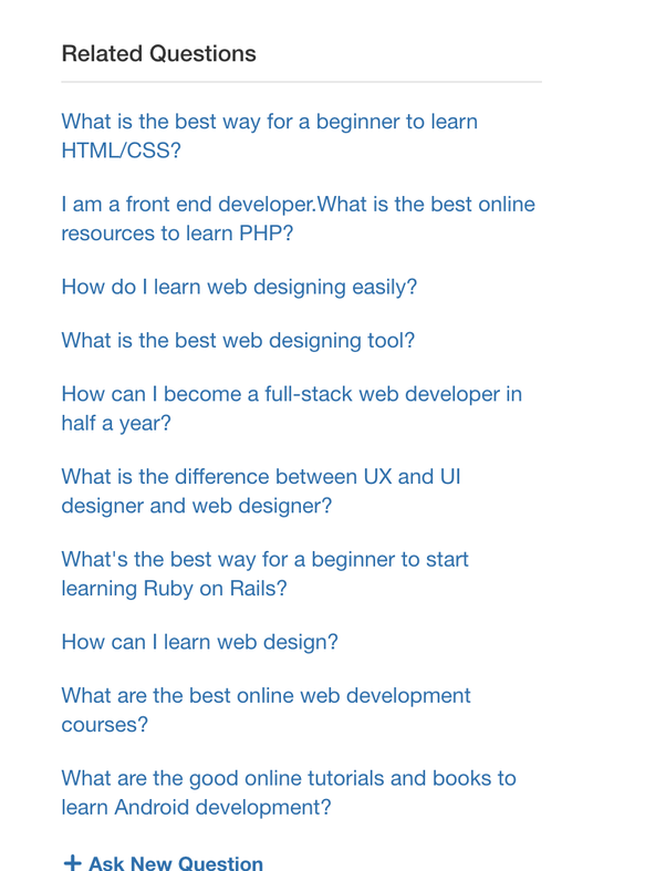 How To Best Learn Web Designing From Scratch Quora