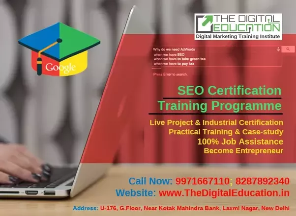 What is the best seo training institute in shakarpur laxmi nagar facebook blueprint certificate exam bing certificate exam the digital education have highly experience faculties in digital marketing training program malvernweather Images