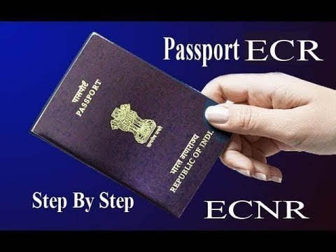 What Does Ecr And Ecnr Mean On An Indian Passport Quora