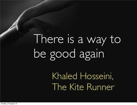 kite runner essays betrayal In khaled hosseini's the kite runner, several major themes arise one of the most dominant themes is the idea of redemption for past wrongdoings the protagonist, an afghani-american named amir, relays the story of his childhood through this, one realizes the issues he went through and the events.