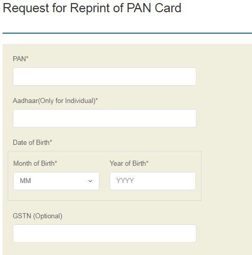 How to reprint my PAN card - Quora
