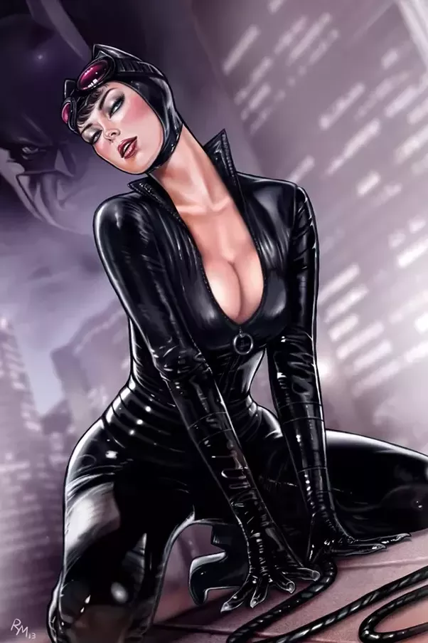 Sexy catwoman boobs