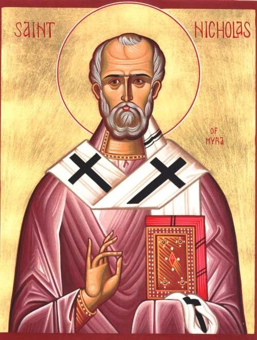 at the very least he was indeed a real person he actually did go by the name of nicholas his greek name when he was a bishop in the early christian church - Jesus Santa
