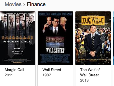 what are good movies about the economy finance stock market and