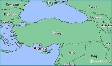 It Is 130 Km Eastern To Antalya