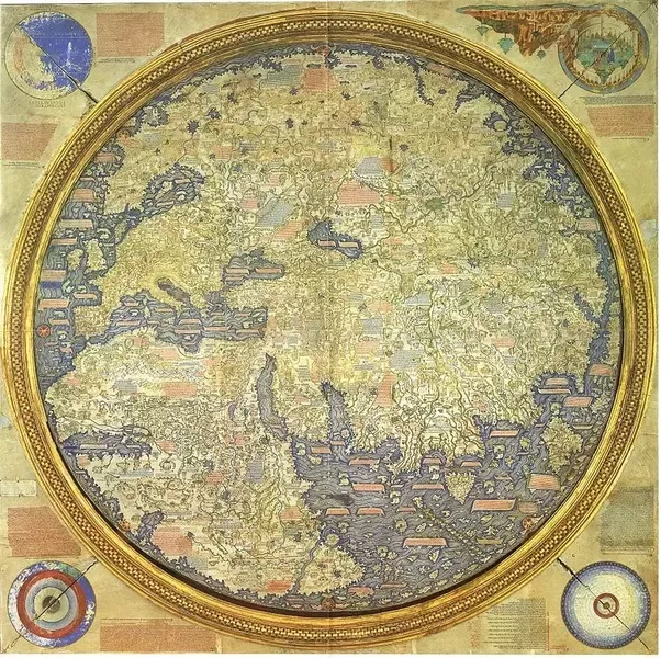 What did the world map look like the day before columbus reached there must have been some progress in geographical knowledge between 1450 and 1492 a better idea of africas western coast atlantic islands gumiabroncs Gallery