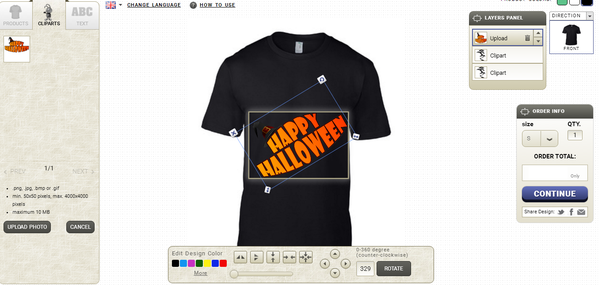 What is the best software or website to design a t shirt for Website for designing shirts