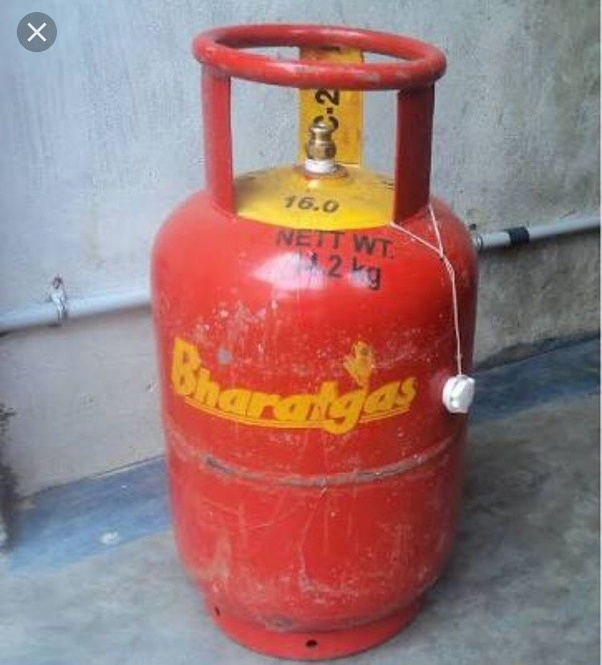 What is the dimension of a 14 2 kg LPG cylinder in India? - Quora