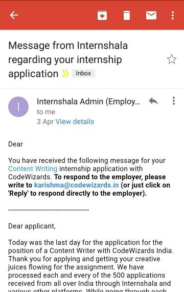 Who Should I Write An Email To Asking For Internship Quora