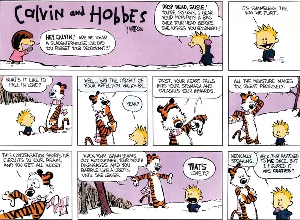calvin and hobbes on writing a thesis In a recent essay titled why academics stink at writing for the the  as pinker  points out, the calvin and hobbes comic where calvin titles.