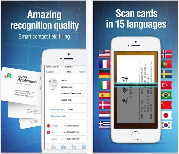 What are the best human transcription business card scanner apps business card reader pro reheart Gallery