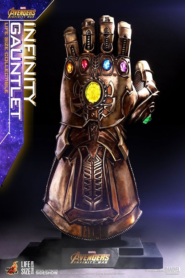 How did Thanos snap his fingers when he had a gauntlet on