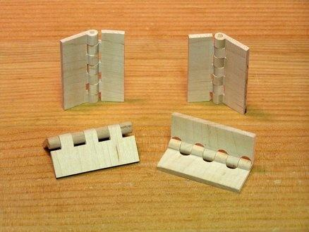 What are some ways of making door hinges out of wood? - Quora