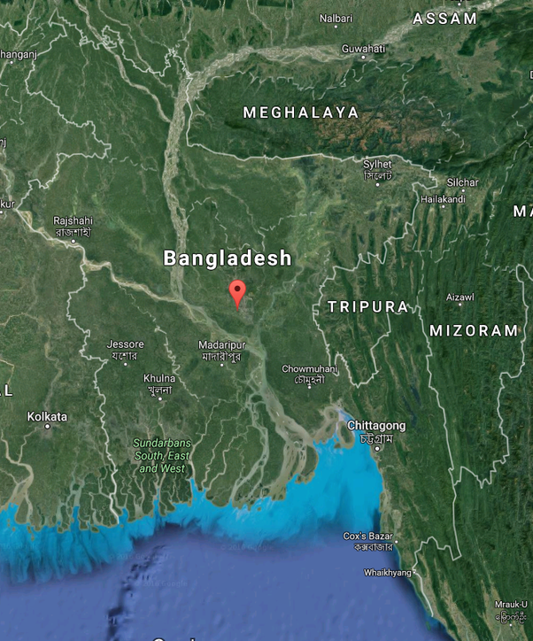 What Is The Current Area Of Bangladesh With Reference Quora - Where is bangladesh located