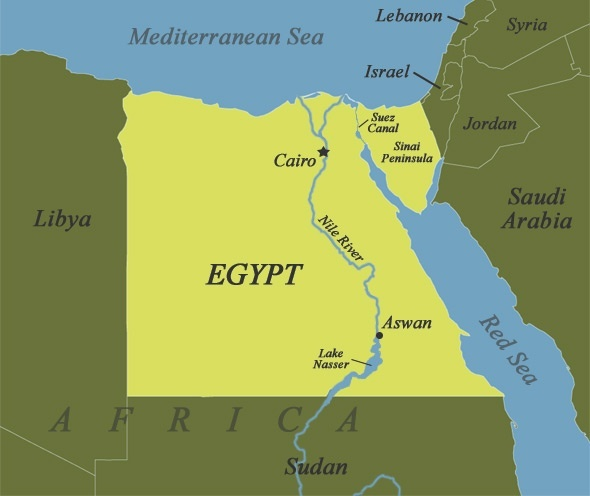 Geographically Is Egypt Part Of Asia Or Africa If Both Where Is - Where is egypt