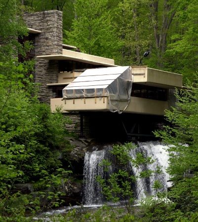 Architect Frank Lloyd Wrightu0027s Designed House, Fallingwater