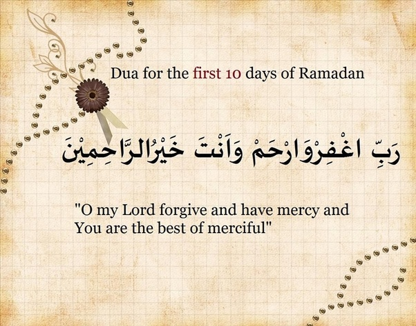 What is the dua to start first day of Ramadan? - Quora