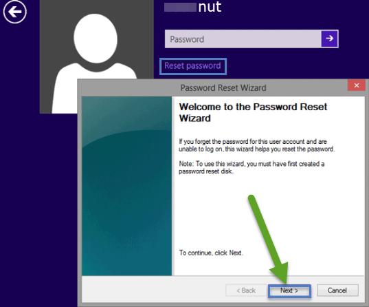 how to reset dell laptop password windows 8 without disk