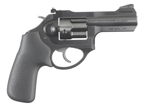 How well would a double action 357 revolver with a 4-inch
